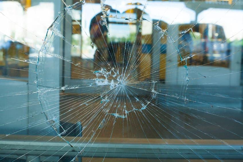 Broken Glass Pane