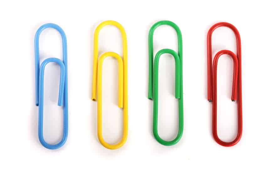 Divergent thinking - paper clips